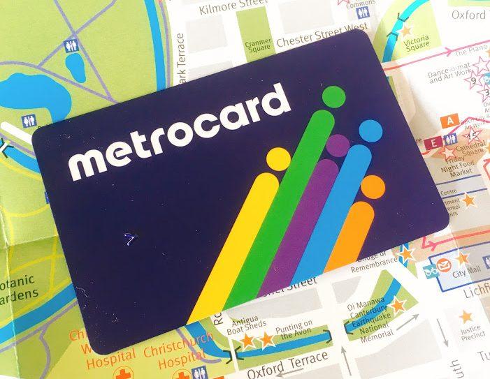 クライストチャーチのバスカード metrocardの買い方