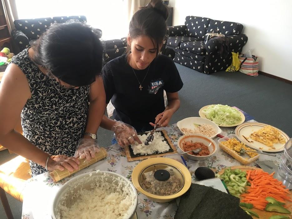 making_sushi