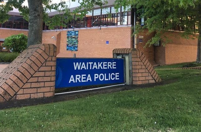 waitakere area police