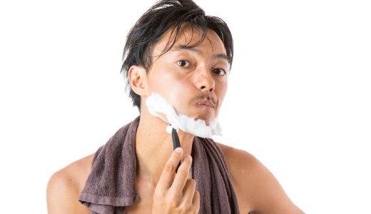 夫の顎髭の一部がハゲた! アイブロウで塗りつぶしてやった