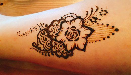 描いてもらったヘナタトゥーを少しでも長持ちさせる方法